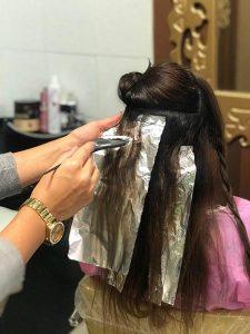 آموزش آرایشگری زنانه | آموزش هایلایت