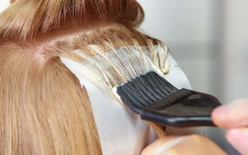 آموزش قدم به قدم رنگ کردن مو