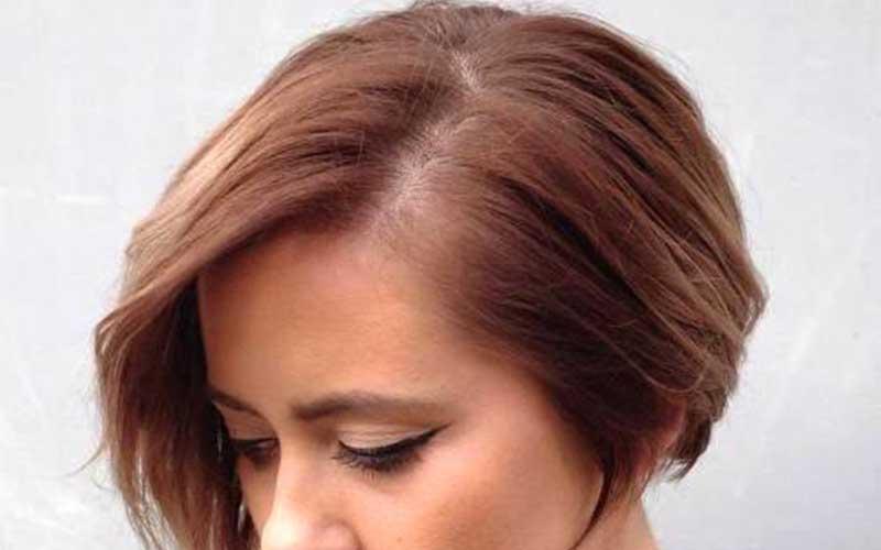 مدل موی کوتاه برای صورت تپل و گرد